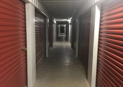 Indoor Storage at Ashland Storage Center