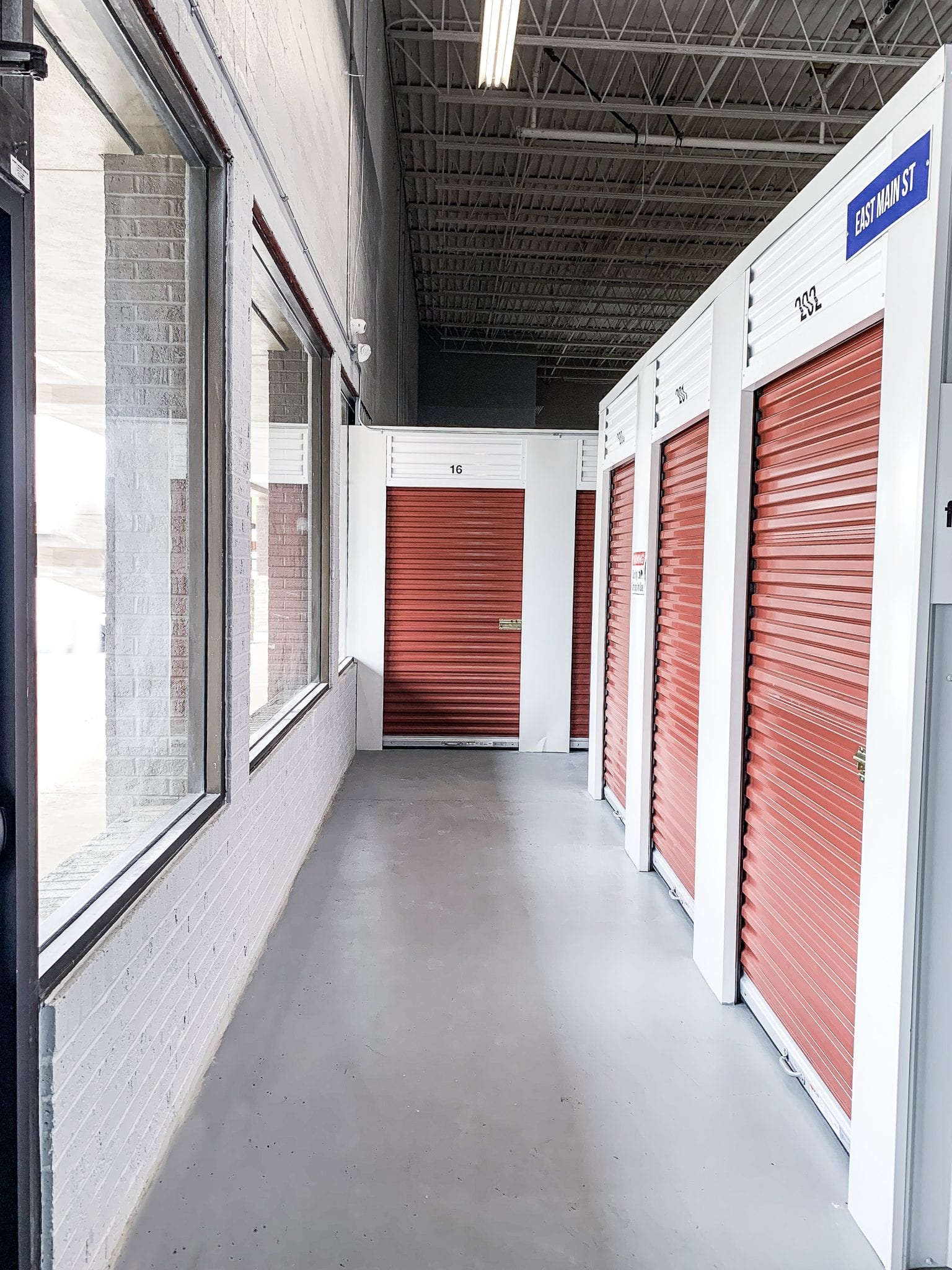 Indoor Storage at Ashland Storage Center East