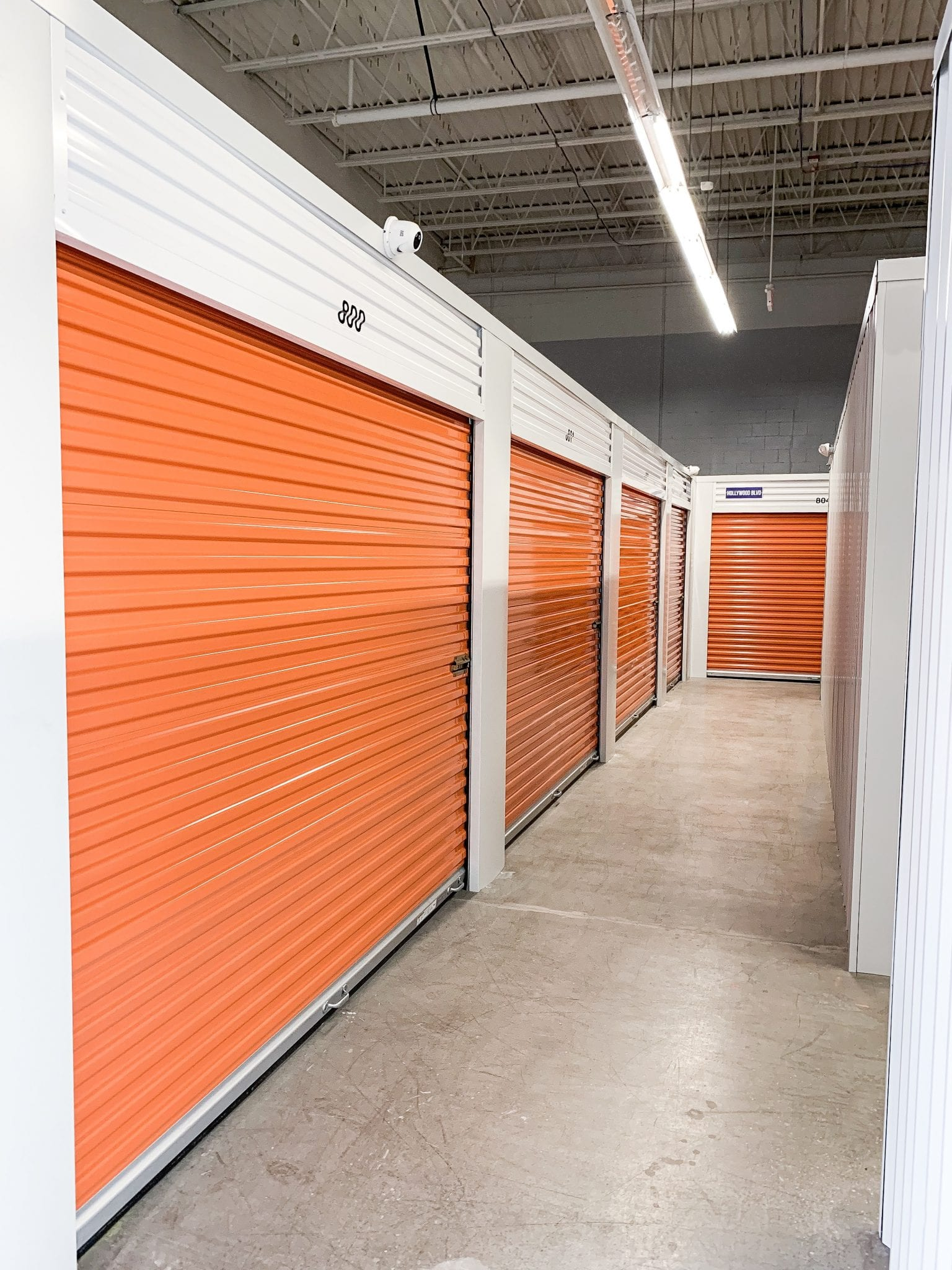 Orange Indoor Storage at Ashland Storage Center