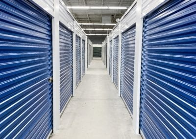 Blue Indoor Storage at Ashland Storage Center