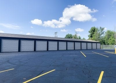 White Storage Units at Ashland Storage Center