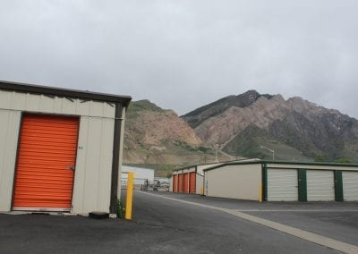 Photo of Green & Orange Storage Units At Aspen Springs