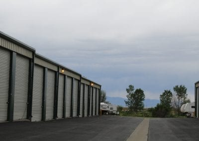 Tall Storage Units At Aspen Springs