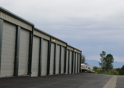 Large Storage Units At Aspen Springs