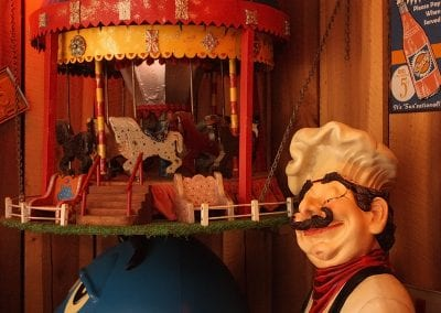 Carousel At Sandy's Pizza