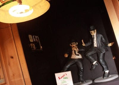 Blues Brothers At Sandy's Pizza