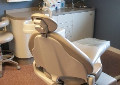 Dental Chair at Clayton Dental Office